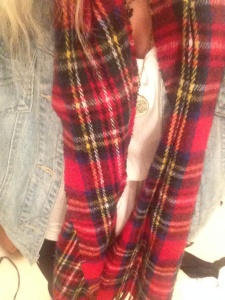 My never ageing tartan scarf is making an appearance one again this Autumn/Winter season.