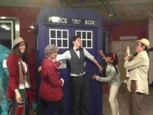 The Whovians dressed up as their favourite doctors