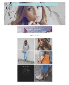 Millie's Style Diary blog