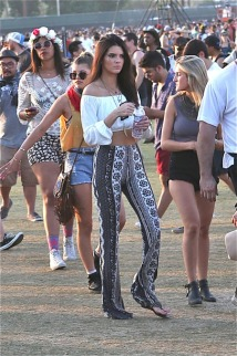 Kendall and Kylie Jenner enjoy Week 2 , day 2 Coachella