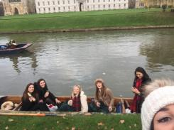 Girls out punting
