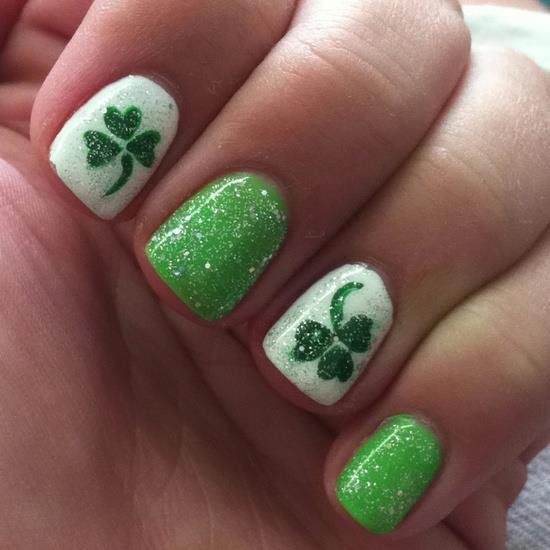St Patricks Day Nails Put A Bit Of The Irish Into Your Manicure